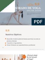 Presentación profesorado de Yoga 2021