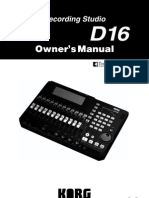KORG D16_Owners Manual