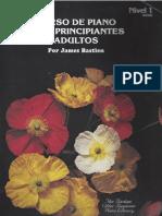 Curso de piano para principiantes y adultos por James Bastien (para imprimir)