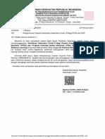 Surat Pemanggilan Peserta Workshop Vaksinator