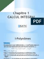 CH1 CALCUL D'INTEGRALES