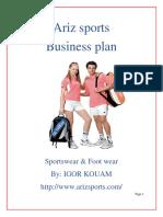 Ariz Sports_business_plan