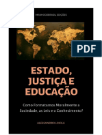 Estado, Justiça e Educação