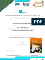 Características del Material audiovisual - Rlopez (Ficha descriptiva)