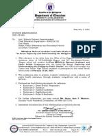 DIVISION MEMORANDUM S 2021-YF-005