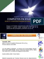 Completos en Jesucristo - Lec 19 - Col 4,2-18