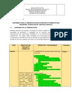 Documento 2 Guía Presentación Proyectos y Primera Segunda Tercera y Cuarta Fase Gestión Logística