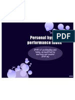 Personal Hygiene Performance Indexff