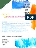Act. 1,2,3,4 - Optativo - Deporte de Invasión