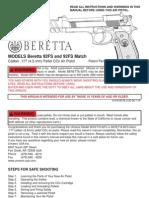 beretta-92fs-pellet gun manual