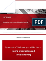 01-Day3- Norma Introduction and Troubleshooting New