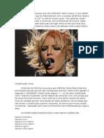 Classificação Vocal da Britney