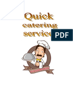 Marie Cristel Mogueis-Quick Catering Services