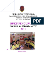 Format Buku Pengurusan Prasekolah