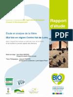 2015 LPABCD Jenty Etude Et Analyse Filiere Oeuf Bio Centre Val de Loire