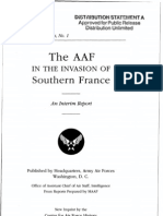 The AAF in the Invasion of Southern France