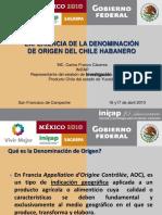Experiencia denominación de origen chile habanero