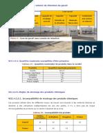 etude danger Capacités de stockage et volume de rétention du gasoil