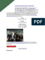 Info Tempat Harga Tiket Konser Stone Temple Pilots