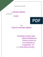Temas de Contenidos Digitales 2011