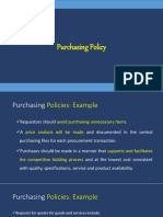 SRM PPT-3.Purchasing Policy