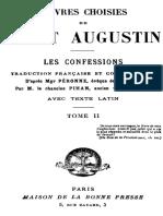 OEuvres choisies de saint Augustin tome 2