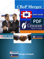 HDFC-CBoP Merger
