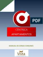 MANUAL ZONAS COMUNES  CÉNTRICA PDF