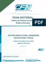 Ficha Sectorial Palmas de Aceite
