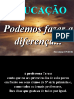 Fazendo a diferença - Educação