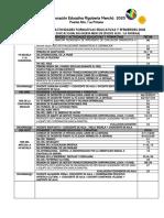 CALENDARIO DE ACTIVIDADES FORMATIVAS EDUCATIVAS Y EFEMERIDES  COORPORACION EDUCACIONAL RIGOBERTA MENCHU 2020