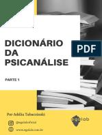 Dicionário psicanalise