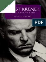Analisis Compositor - Krenek - Stewart, John - The Man and His Music