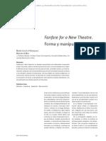Mariano Etkin - Fanfare for a New Theatre.forma y Manipulación Serial