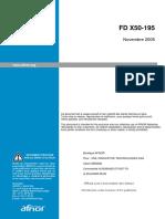 FD X50-195
