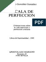 Eleuterio Gonzalez Gonzalez - Escala de Perfeccion Cod327