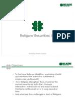 RELIGARE SECURITIES LTD