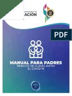 Manual Para Padres - Departamento de Educación
