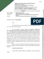 LIMINAR Do SINDASP Para Proibição Das Visitas Dr. Carlos Eduardo Peretti
