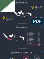 Map Indonesia Slide theme
