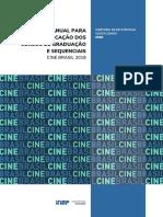 Manual para Classificação dos Cursos de Graduação e Sequenciais - Cine Brasil 2018