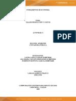 Actividad 3 - Taller Producción y Costos - Video Producto Marginal.