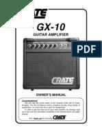 manual crate gx10