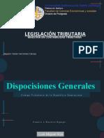 Dispocisiones Generales Codigo Tributario (1)