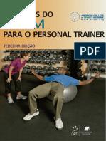 Recursos Do ACSM Para o Personal Trainer, 3ª Edição