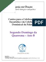 Caderno_2º Domingo Quaresma_B