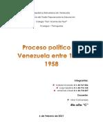 Procesos politicos de Venezuela