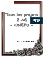 2 as - Tous Les Projets - OnEFD 2