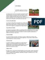 Eventos de pista y campo del atletismo