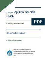 01 Manual Instalasi PAS